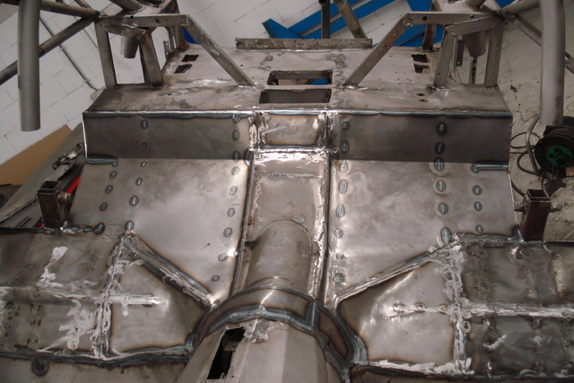 The repaired chassis