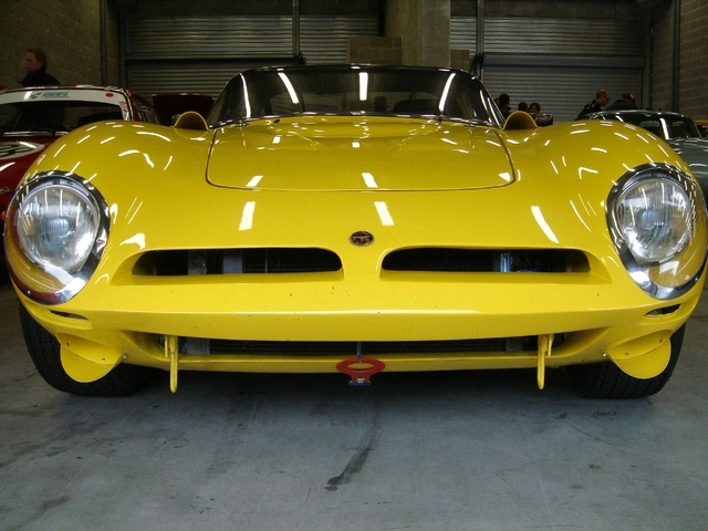 The very recognizable nose of the Bizzarrini
